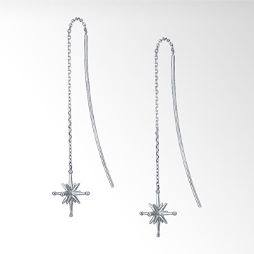 STAR JEWELRY CROSSING STAR LONG PIERCED EARRINGS.jpg